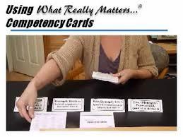 petency cards for career development