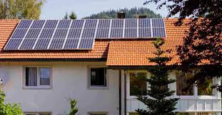 installing solar panels on rooftop is a