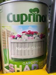 Cuprinol Garden Shades Natural Stone 1 Litre Fence Paint Ebay