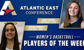 Fisher, Aungst Highlight First Women's Basketball Weekly Honors - Atlantic  East Conference