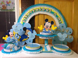 Baby Mickey Mouse Baby Shower Ecorations Decoraciones Infantiles