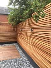 Amazon Co Uk Modern Fence Panels