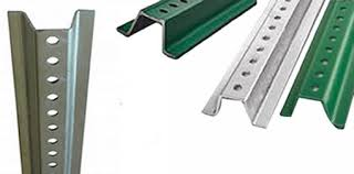 U Posts Hot Dip Galvanized Steel And Epoxy Coated Anti Corrosion Treated For Outdoor Fencing Uses