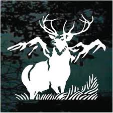 Elk Hunting Decals Stickers Decal Junky