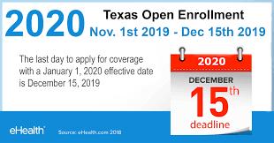 texas open enrollment dates ehi rc