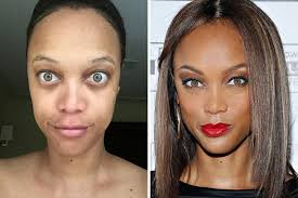 celebrities without makeup reel life