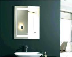 chrome framed bathroom mirror in 2020