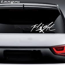 Langru For Flight Jordan Jump Man Logo Vinyl Decal Sticker For Automobile Room Car Window Jdm Car Stickers Aliexpress