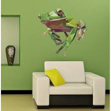 Shop Frog Polygonal Wall Decal Stylish Frog Polygon Modern Wall Art Sticker Overstock 31794193