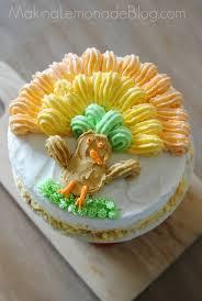made easy thanksgiving cake idea