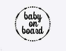 Baby On Board Car Decal Baby On Board Car Decal Baby On Board Baby Car Decal Decal Baby On Board Cricut Baby Cricut Projects Vinyl Cricut Monogram