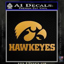 Iowa Hawkeyes Dh Decal Sticker A1 Decals