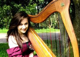 wedding harpist scotland scottish