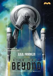 Uss Franklin Star Trek Beyond 1 350 Scale From Moebius Mo