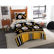 Nfl Pittsburgh Steelers Draft Comforter Set Bed Bath Beyond