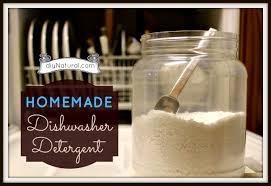 homemade dishwasher detergent soap