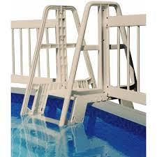 Vinyl Works Pool Ladder Step To Fence Connector Kit In Taupe Walmart Com Walmart Com
