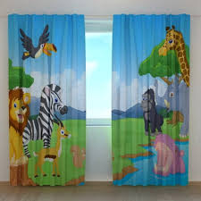 Kids Room Curtains Blackout Curtains Nursery Etsy