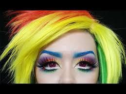my little pony rainbow dash makeup