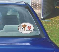 Bulldog Window Decal Cwv Bulldog2 5 00 Westickerthang Offers A Wide Variety Of Sticker Wall Decals Wall Nursery Art And Car Window Stickers For Decorating Walls Or Other Surfaces Without The Mess