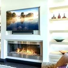 gas fireplace modern