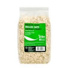 dr gram organic rolled oats 500g
