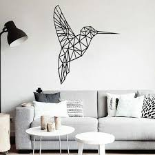 Geometric Vinyl Bird Wall Stickers For Living Room Kids Room Bedroom Home Wall Decoration Bedroom Decals For Adults Bedroom Decals For Walls From Onlybrand 5 98 Dhgate Com