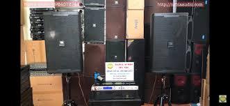 Bộ DÀn bãi Loa JBL 6012- Đẩy bãi-Vang số DK 9000 ,Micro – Nghĩa Audio Cung  cấp Âm Thanh Chuyên Nghiệp Thiết Bị Âm thanh