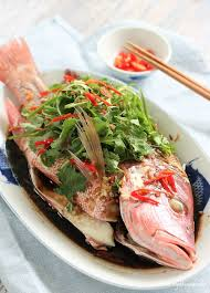 Steamed Red Snapper with Chicken ...
