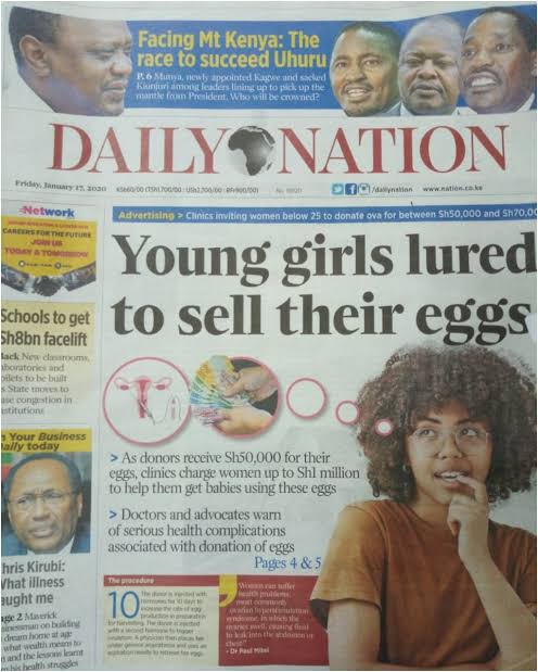 girls lured to sell their eggs