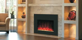 inspired electric fireplace insert in