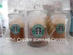diy coffee scented candles you