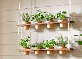 how to make a hanging herb garden