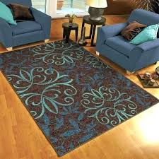teal area rugs booker website