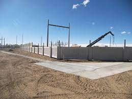 Utility Fence Walls Stonetree Concrete Fence Wall System