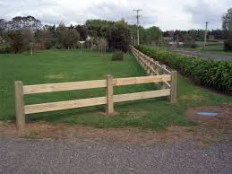 2 Rail Fences Post And Rail Fences Beams Timber Nz