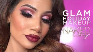 glam makeup tutorial cherry