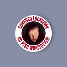 The Shining Lockdown Vinyl Sticker Here S Joh Folksy