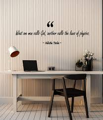 Amazon Com Vinyl Wall Decal Lettering Physicist Scientist Nikola Tesla Quote Stickers Mural Large Decor G3577 Black Home Kitchen
