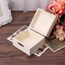 2020 wooden square jewelry storage box