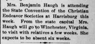 Ada Ross Haugh at Convention - Newspapers.com
