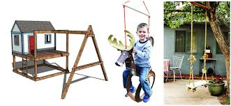 47 free diy swing set plans for a happy