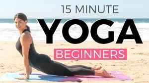 15 minute morning yoga for beginners