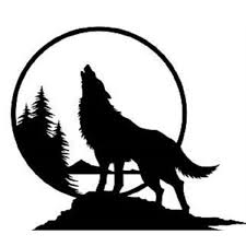 15 13cm Handsome And Cool Stickers Wolf Howling At The Moon Trees Scenery Vinyl Decal Sticker Car Truck Decor Car Sticker Wish