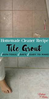diy grout cleaner homemade recipe with