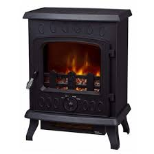 style real log flame effect with caster