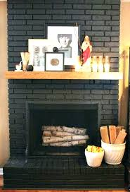 best painted brick fireplaces plote info