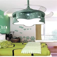Amazon Com Eahkgmh Fan Light Modern Ceiling Light With Fan With Remote Control Quietly Ceiling Fan For Bedroom Lamp Kids Room Living Room Ceiling Fan With Lights Fan Ceiling Fan Light Fixture Color
