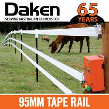 100m Electric Fence Tape 8 Strong Heavy Duty Wires 95mm Width Wide Horse Rail Ebay