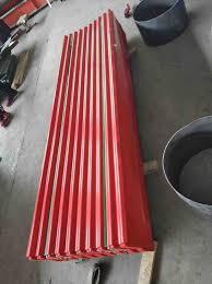 big spangle surface corrugated steel
